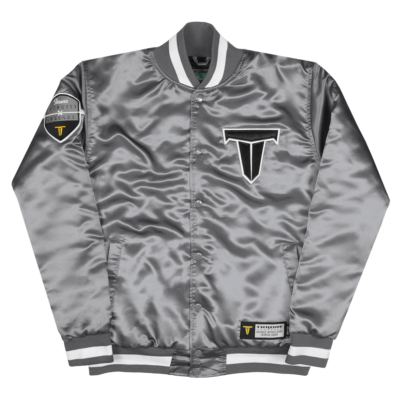 Rock A Gray Hat And Leather Jacket For Fall: Team Jacket Edmonton